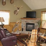 Spacious Living Room-Ohio Hunting Lodges