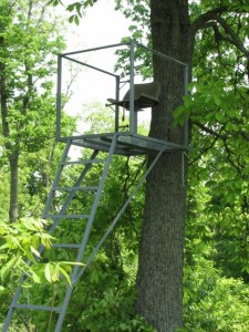 Ladder Stands-Ohio Deer Hunting